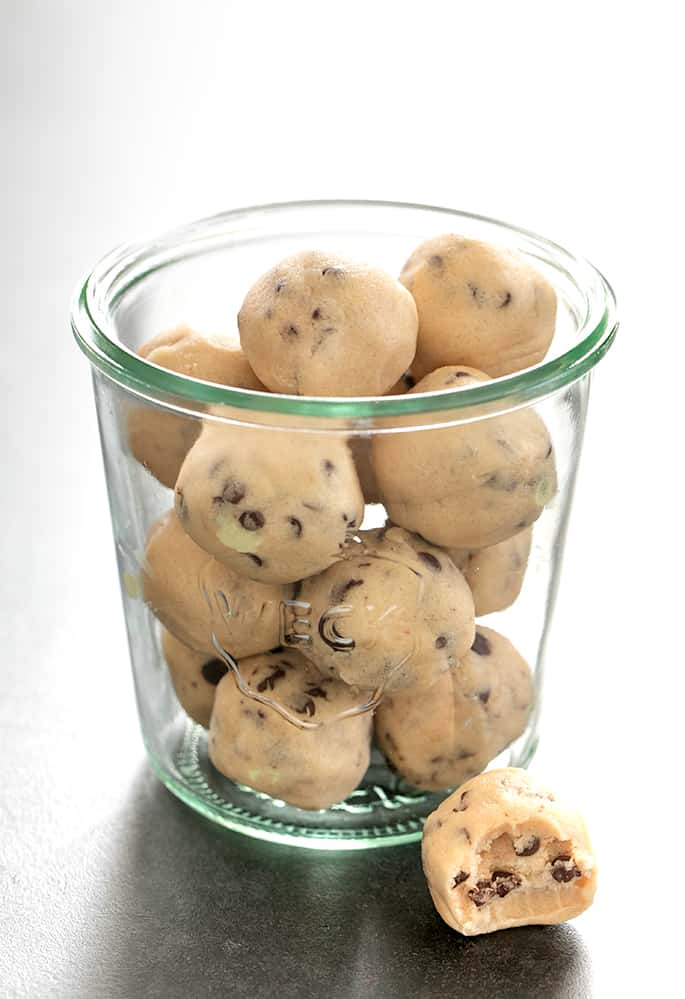 Edible Gluten Free Cookie Dough Bites