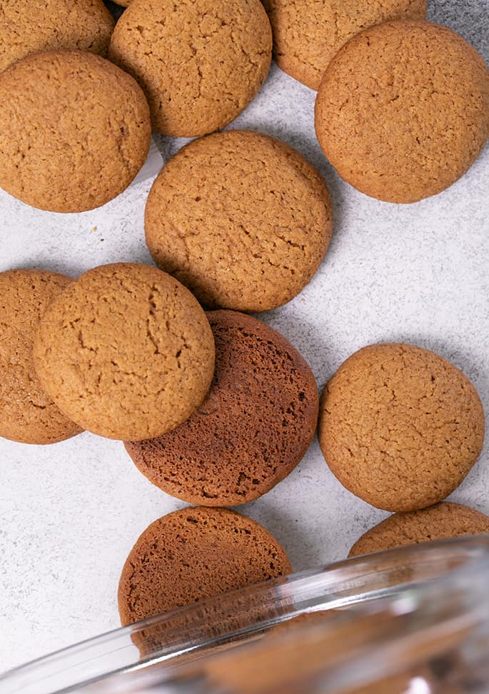 Gluten Free Gingersnaps