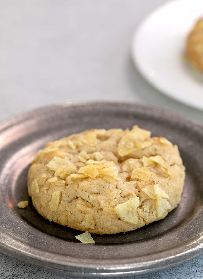 Gluten Free Potato Chip Cookies